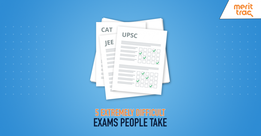 5 extremely difficult exams people take