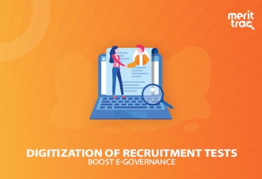Digitization of Recruitment Tests Expedites E-Governance System